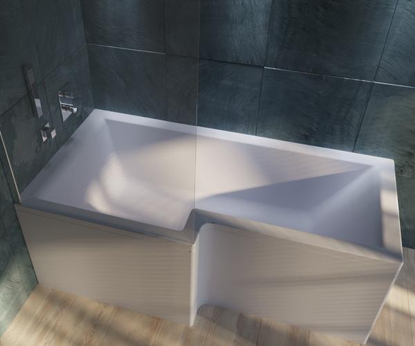 ванна акриловая 1MARKA LINEA 165х85