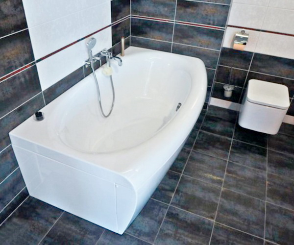 ванна акриловая 1MARKA NEGA 170х95