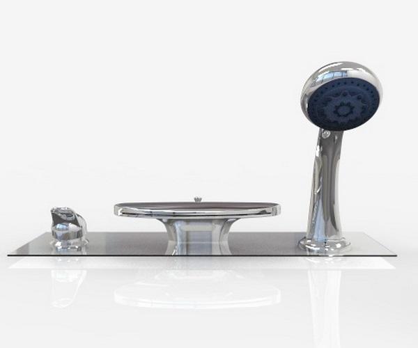 смеситель для ванны 1MARKA NIAGARA