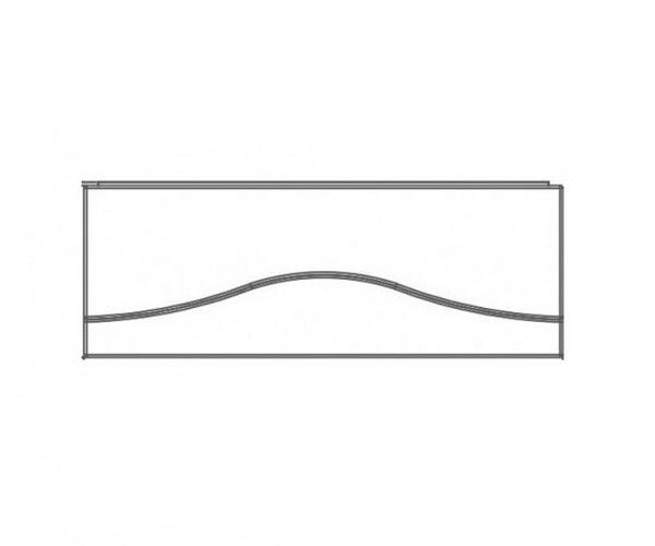 панель AKRILAN TIGUANA 170 фронтальная