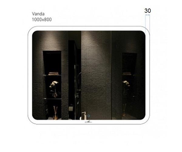 зеркало ALAVANN VANDA LUX 100