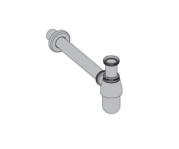 сифон для раковины ALCAPLAST A431