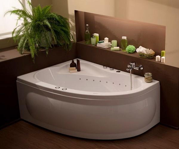 ванна акриловая AQUANET LUNA 155х100