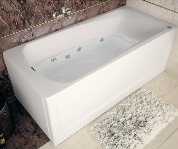 ванна акриловая AQUANET ROMA 160х70