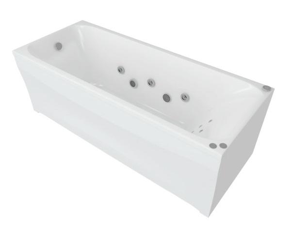 ванна акриловая AQUATEK АЛЬФА 140х70