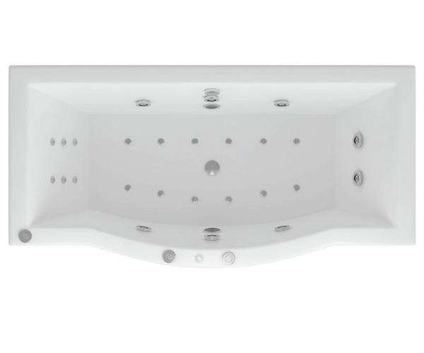 ванна акриловая AQUATEK ГЕЛИОС 180х90
