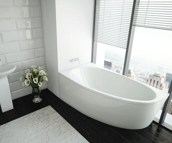 ванна акриловая AQUATEK ДИВА 160х90