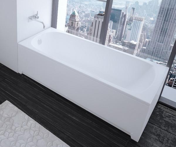 ванна акриловая AQUATEK НИКА 170х75