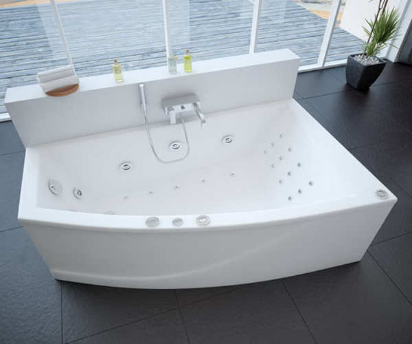 ванна акриловая AQUATEK ОРАКУЛ 180х125