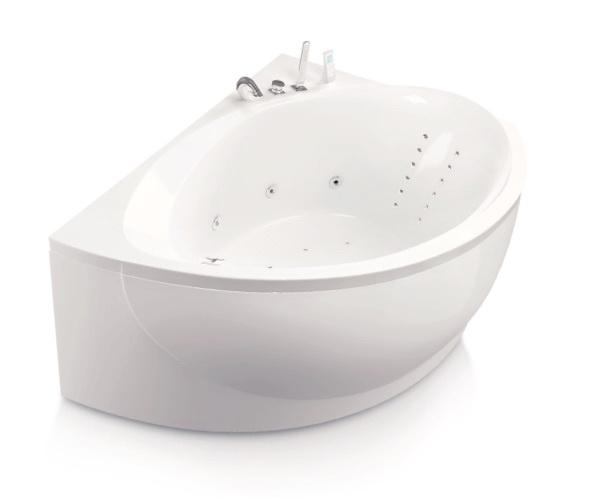 ванна акриловая AQUATIKA АЛЬТЕРНАТИВА 170х120