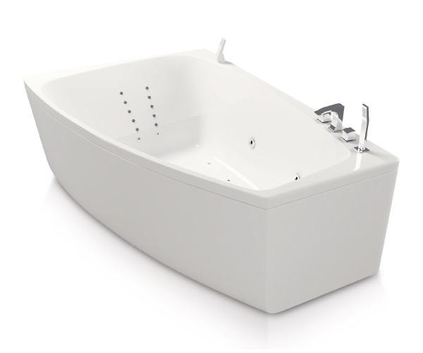 ванна акриловая AQUATIKA АЛЬТЕЯ 180х120