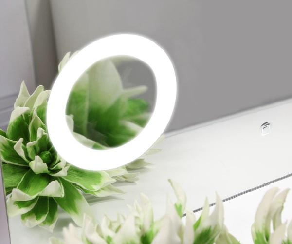 зеркало АКВАТОН ЭЛИО 120 с часами