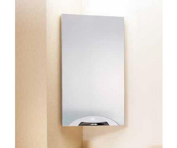 угловое зеркало-шкаф AQWELLA DELTA 45