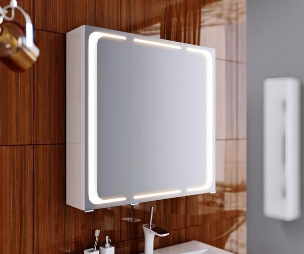 зеркало-шкаф AQWELLA MILAN 80