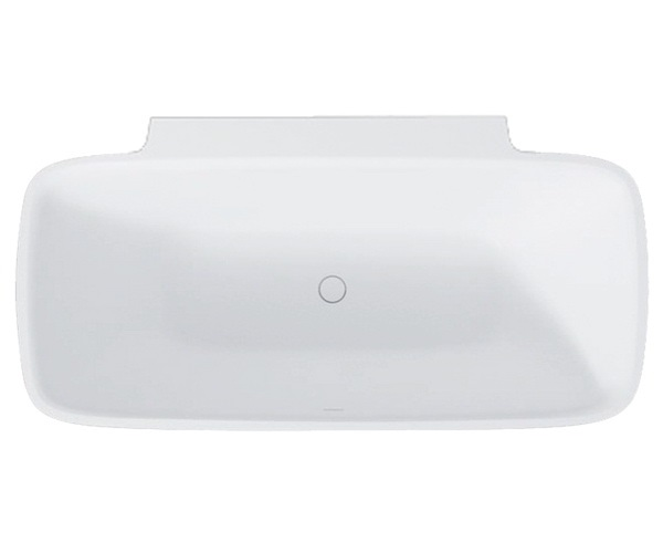 ванна из литьевого мрамора BALTECO DUNE WALL 174х87