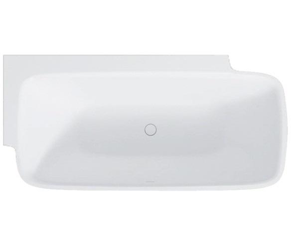 ванна из литьевого мрамора BALTECO DUNE CORNER 181х87