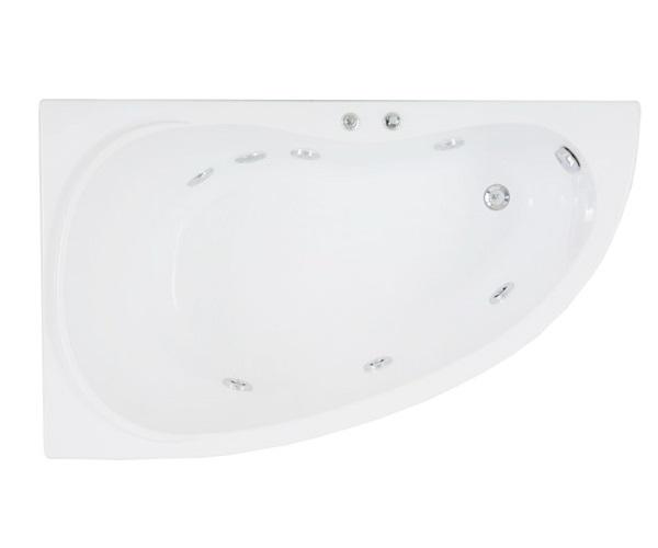 ванна акриловая BAS АЛЕГРА 150х90