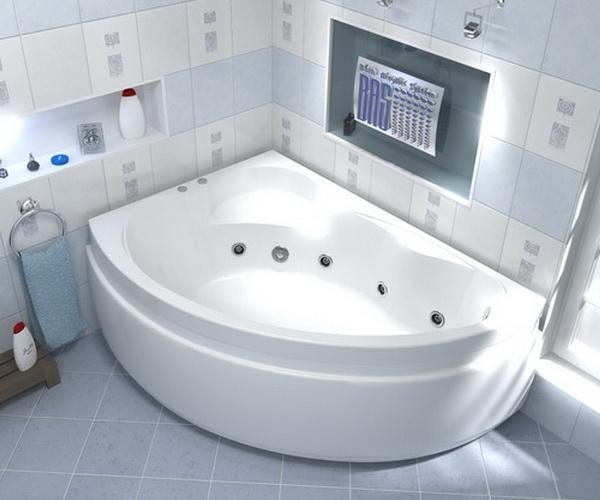 ванна акриловая BAS ЛАГУНА 170х110