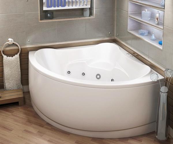 ванна акриловая BAS МОДЕНА 150х150