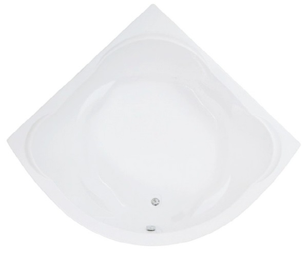 ванна акриловая BAS РИВЬЕРА 161х161
