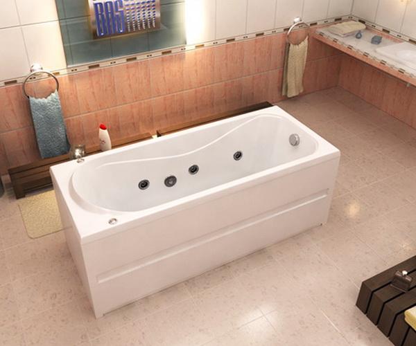 ванна акриловая BAS СТАЙЛ 160х70