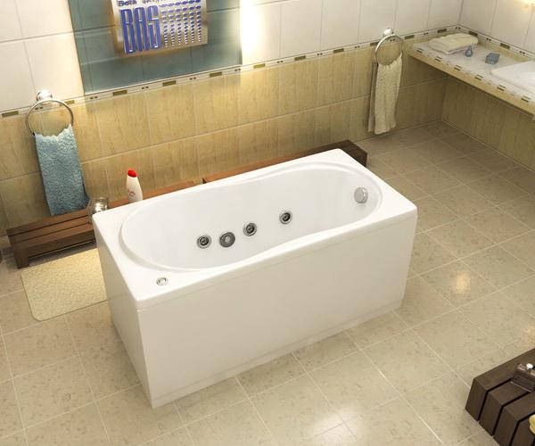 ванна акриловая BAS ТЕССА 140х70