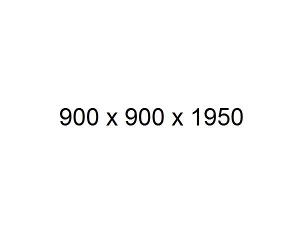 душевое ограждение BAS ALTAIR 90