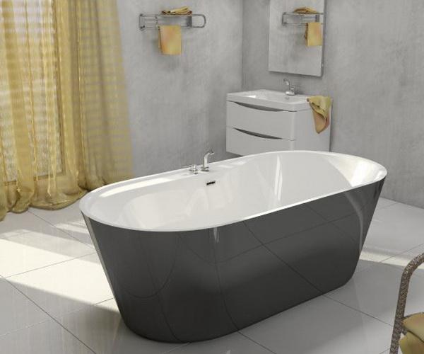 ванна акриловая BELBAGNO BB14 178х84
