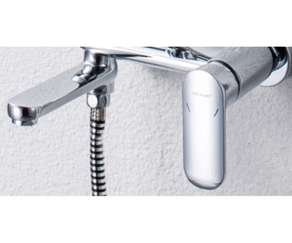 смеситель для ванны BRAVAT OPAL