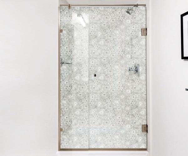 душевая дверь BRONZE DELUXE 90