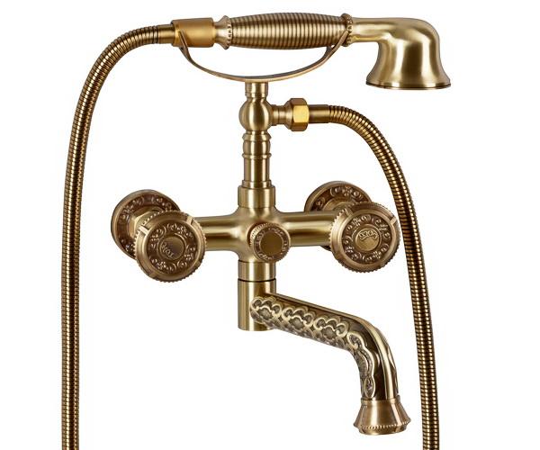смеситель для ванны BRONZE DELUXE ROYAL