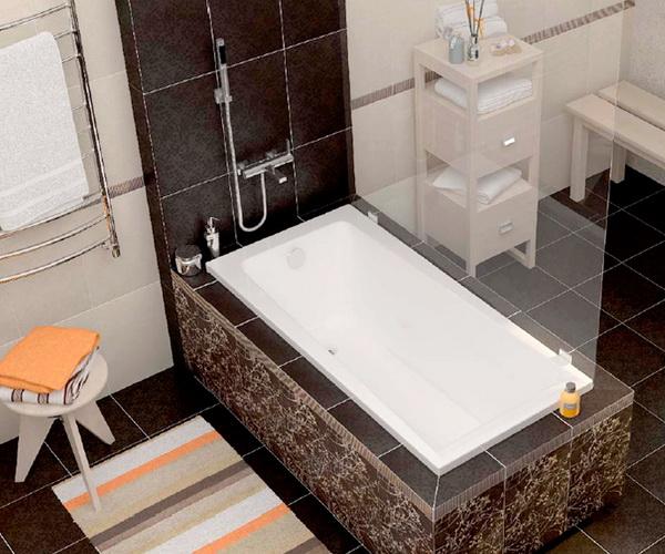 ванна акриловая CERSANIT LORENA 150х70