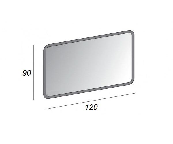 зеркало CEZARES 120