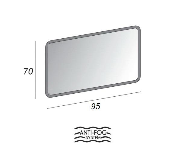 зеркало CEZARES 95