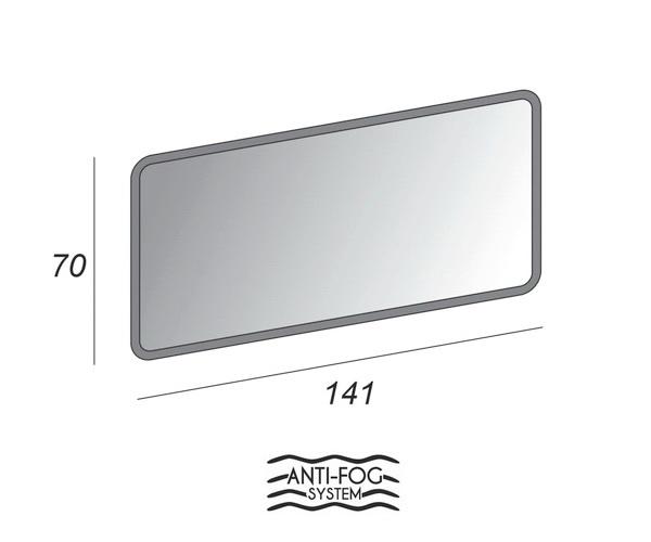 зеркало CEZARES 141