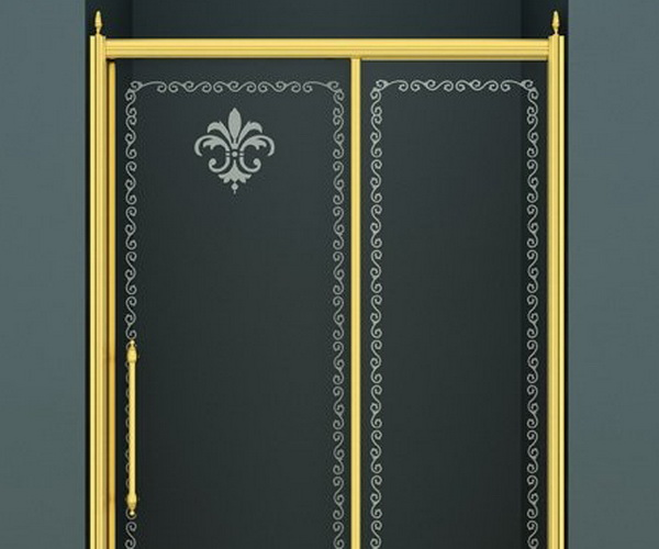 душевая дверь CEZARES RETRO 120