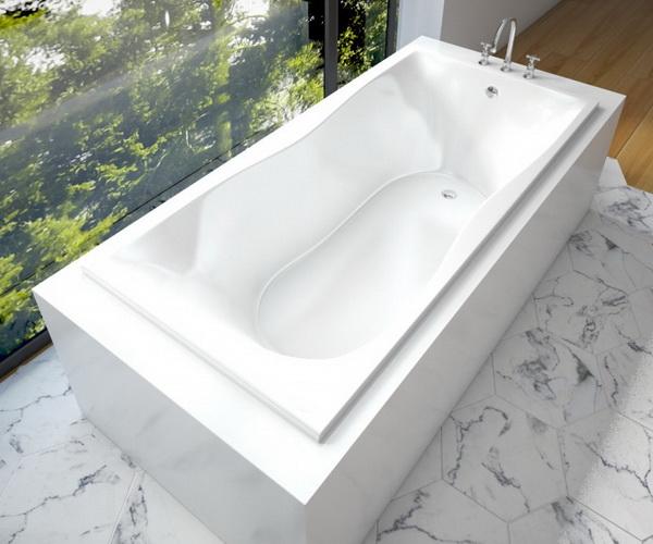 ванна из литьевого мрамора ЭСТЕТ БЕТА 170х80