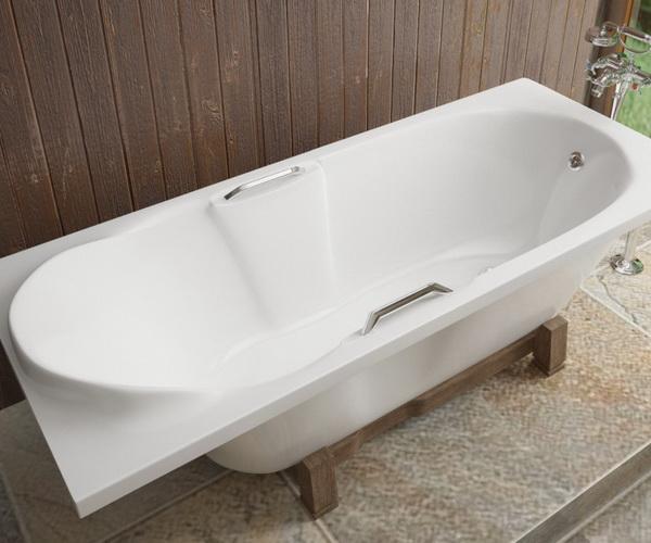 ванна из литьевого мрамора ЭСТЕТ КАМЕЛИЯ 180х75