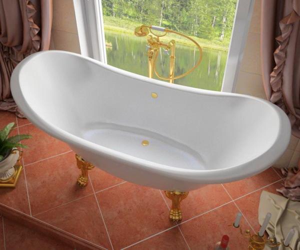 ванна из литьевого мрамора ЭСТЕТ СКАРЛЕТТ 180х77