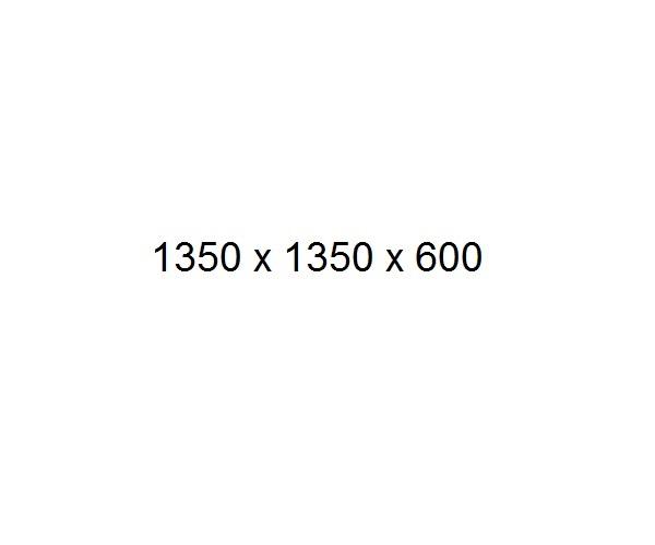 ванна акриловая FRANK F150 135х135