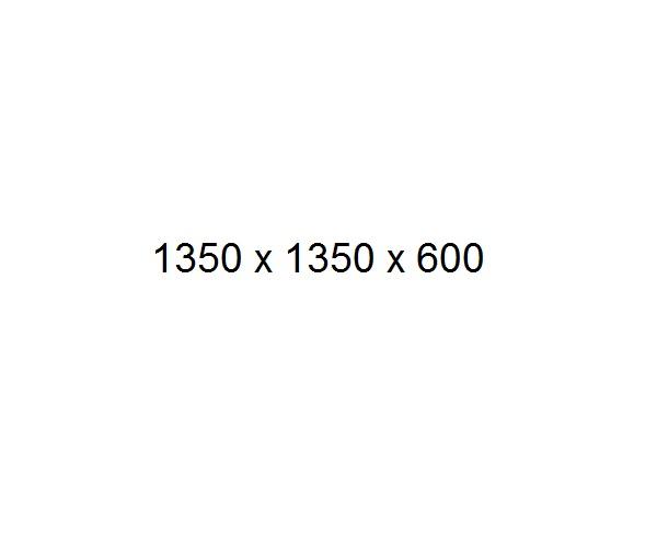 ванна акриловая FRANK F153 135х135