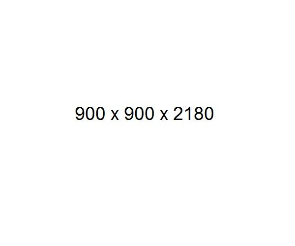 душевая кабина FRANK F255 90х90