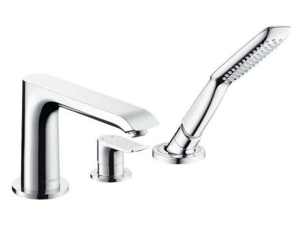 смеситель для ванны HANSGROHE METRIS