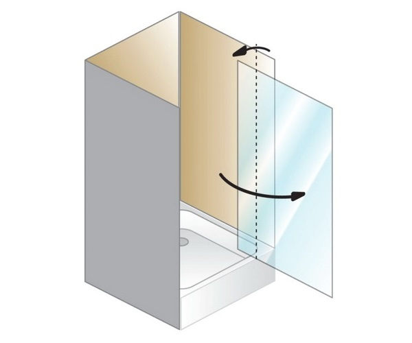 душевая дверь KOLPA-SAN Q-LINE 90