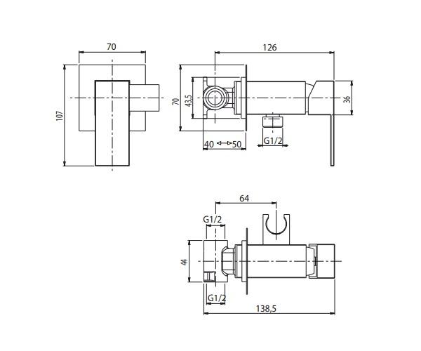 гигиенический набор M&Z KIT BIDET