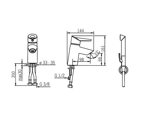 смеситель для раковины ORAS OPTIMA