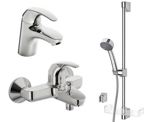 смеситель для ванны ORAS POLARA - комплект