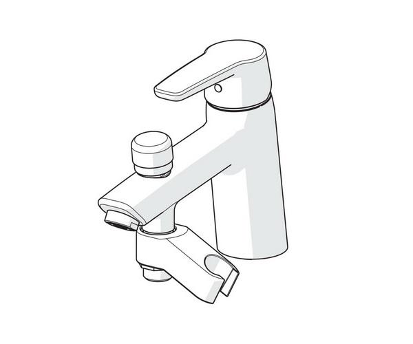 смеситель для ванны ORAS SAGA