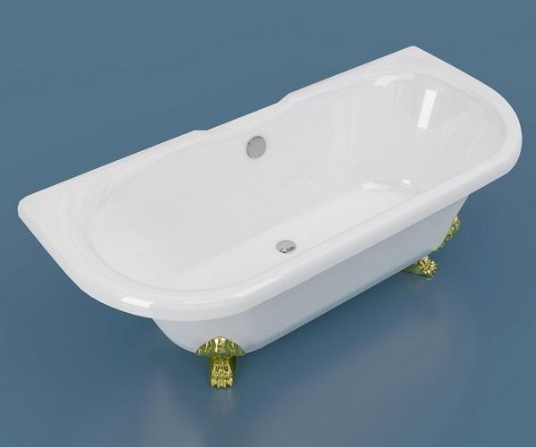 ванна из литьевого мрамора ESSE CAPRI 170х75