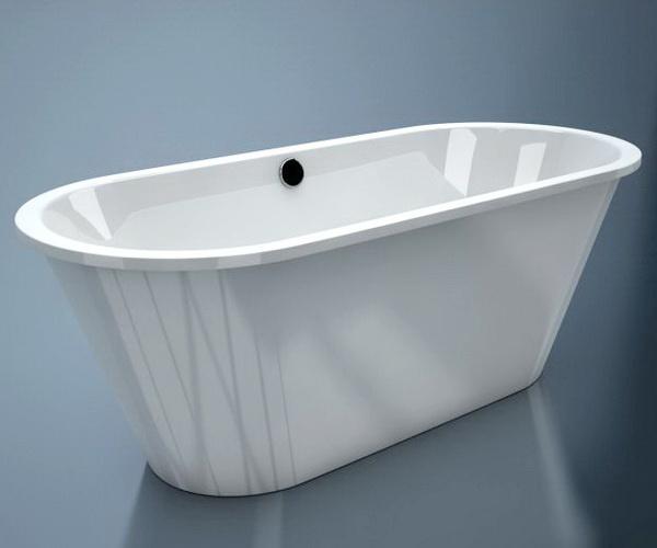 ванна из литьевого мрамора ESSE CRETA 167х71